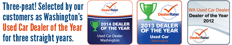 Used Car Dealer of the Year for Washington